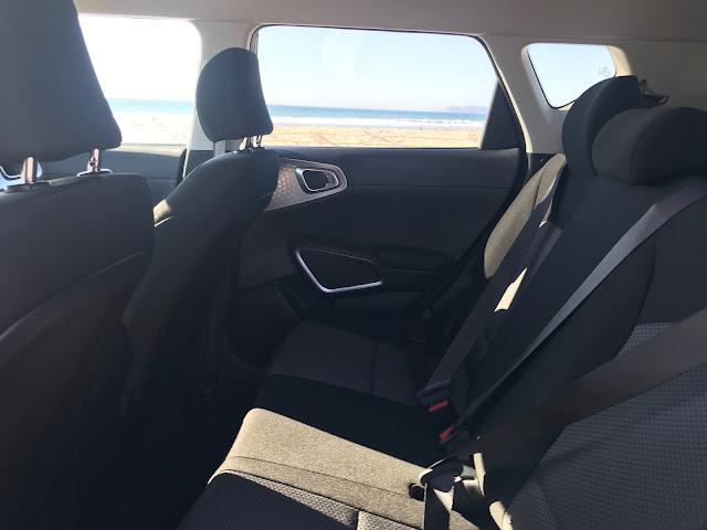 Rear seat in 2020 Kia Soul X-Line