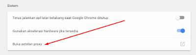 Cara Mengganti Proxy Pada Chrome Dekstop Dengan Mudah 3