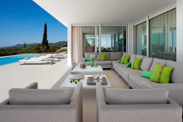 terraza de diseño