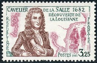 France 1982 René-Robert Cavelier, Sieur de La Salle