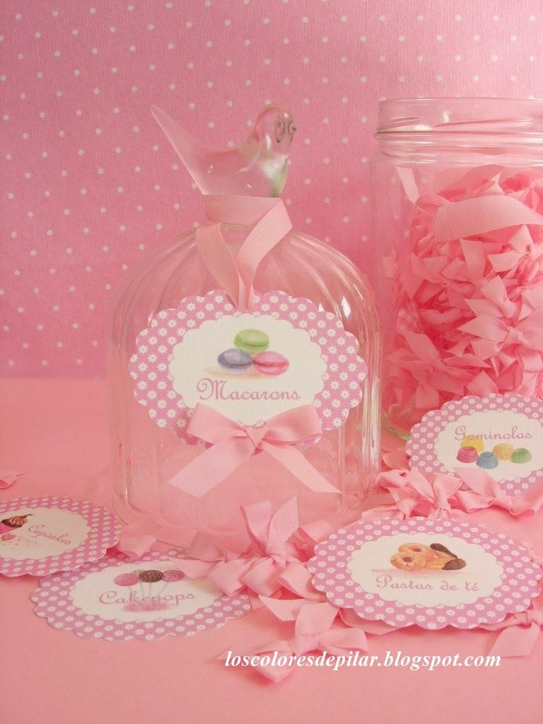 Los colores de pilar para mesa dulce de ni as - Mesas dulces para ninas ...