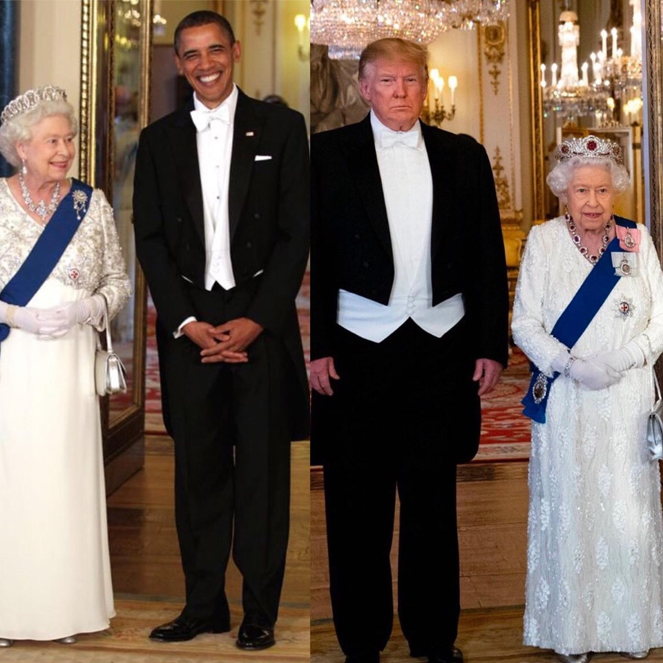 Image result for obama and trump who wore it best