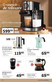 CATALOG LIDL 17 - 24 decembrie 2018 Espressor Manual
