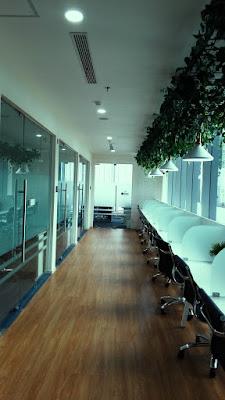 hybrid coworking space