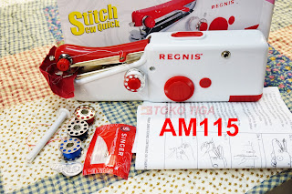 AM115 Jual Mesin Jahit Tangan Mini REGNIS