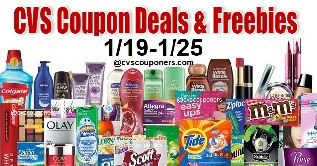 CVS Coupon Deals 1-19-1-25