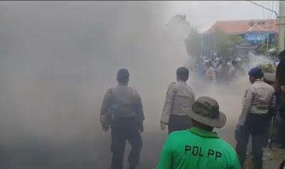 Murid SD Ditangkap Ikut Demo Omnibus Law