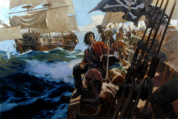 Muddy Colors Pirate Paintings National Geographic Pt. 4