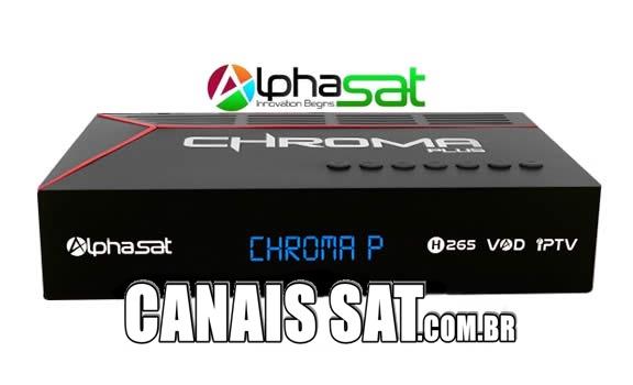 Alphasat Chroma Plus Nova Atualização V12.06.19.S75 - 19/06/2020