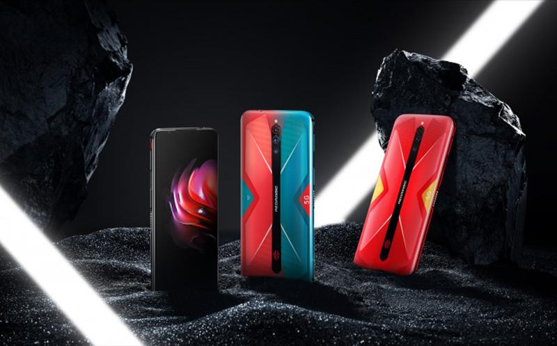 Black, Cyber Neon, Mars Red