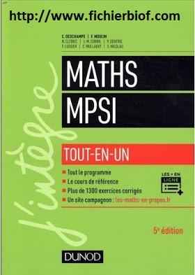 Maths - MPSI - Tout en un - J'intègre