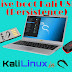 Making a Live bootable Kali Linux USB drive with Persistence