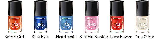 TNS Cosmetics Love Power Collection