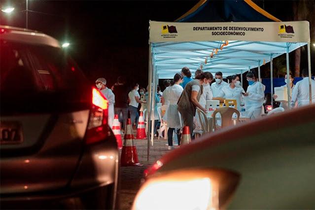 Porto Velho imuniza mais de 5 mil pessoas durante a sexta-feira