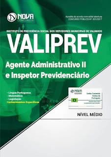 http://www.novaconcursos.com.br/apostila/impressa/valiprev/impresso-valiprev-2017-agente-adm-ii-insp-previd?acc=81e5f81db77c596492e6f1a5a792ed53