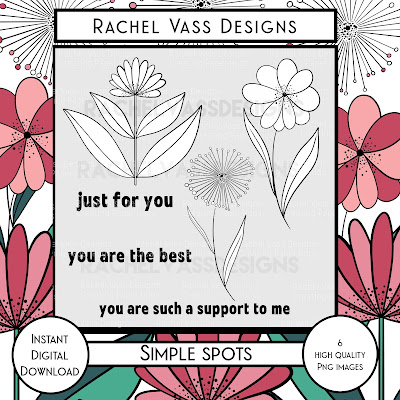 Rachel Vass Designs - Simple Spots
