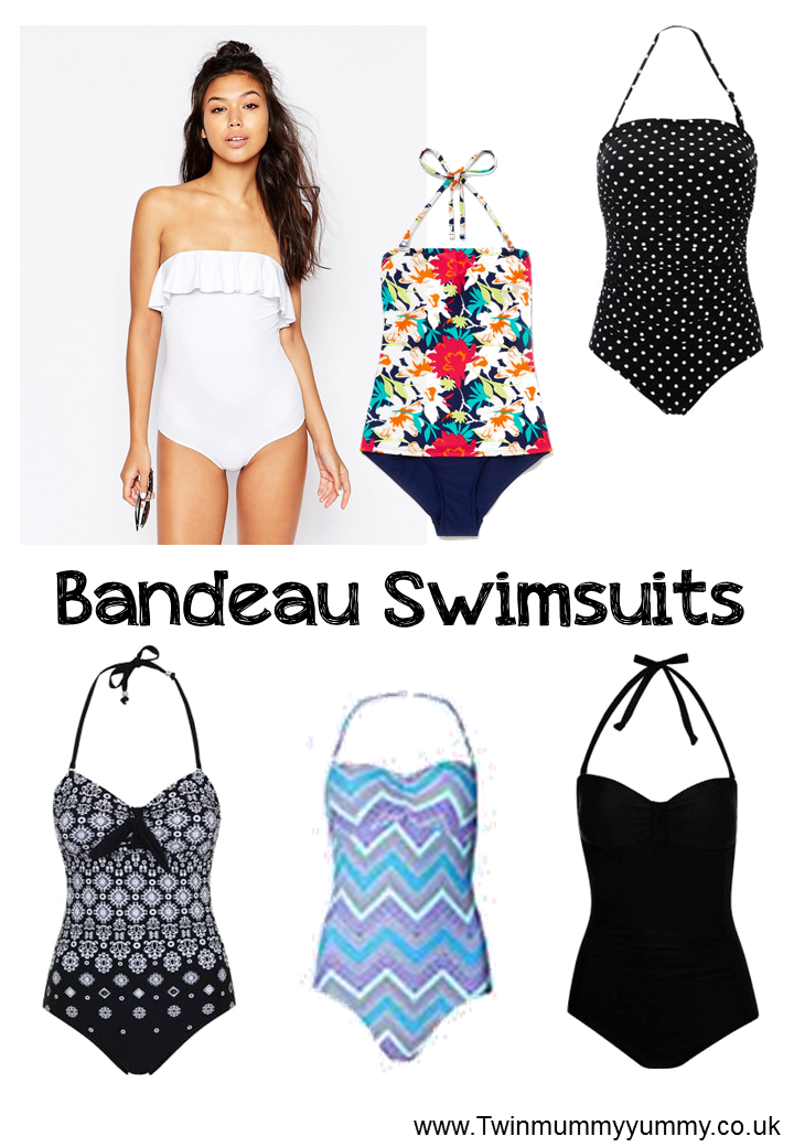 Bandeau Swimsuits 2016 UK