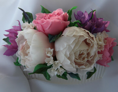 Wedding flower comb