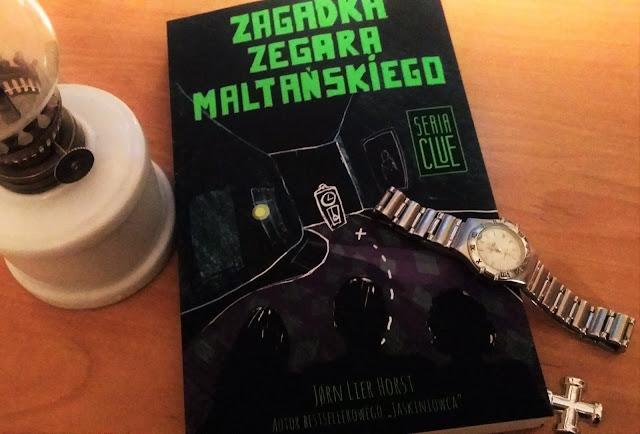 """Młodość, emocje i kolejne tajemnice. Recenzja """"Zagadki zegara maltańskiego"""" Jørna Liera Horsta."""