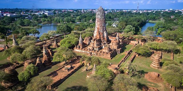 Ayutthaya la antigua capital de tailandia