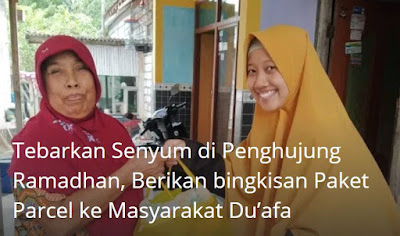 Tebarkan Senyum di Penghujung Ramadhan, IPM Berikan Bingkisan ke Dhuafa
