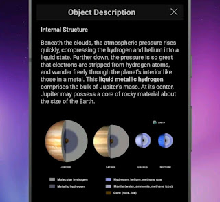 Top 1st no AppSkySafari Astronomy application