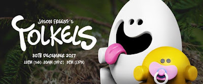Yolkels Vinyl Figure by Jason Freeny x Mighty Jaxx