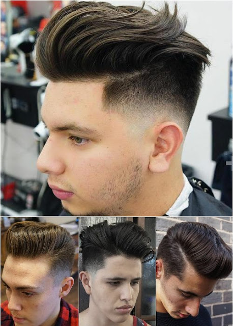 DISCONNECTED POMPADOUR IS BEST HAIRSTYLES FOR MEN IN 2017