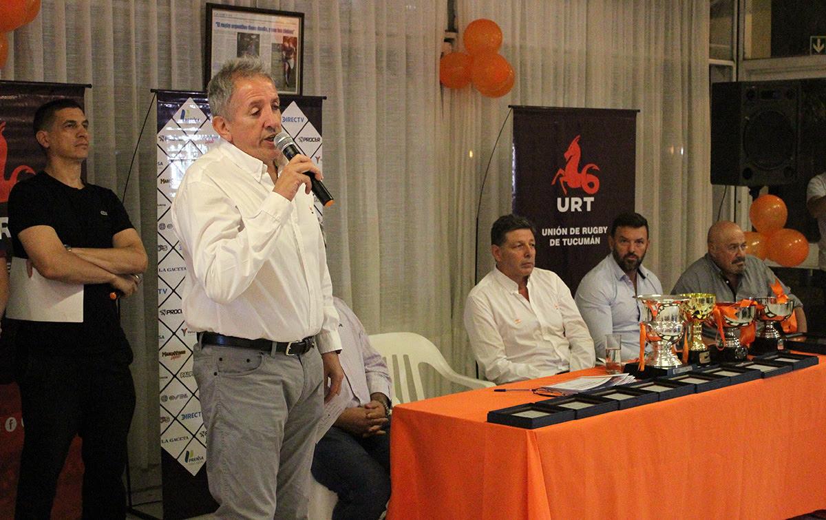 Entrega de distinciones de la Unión de Rugby de Tucumán