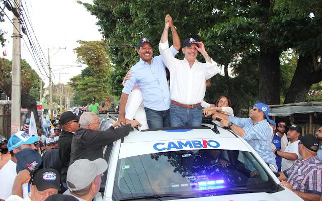 Agradece masiva acogida en Haina, Nigua y San Cristóbal