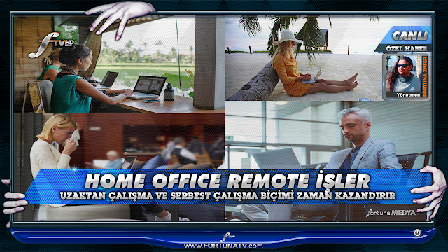 REMOTE - FREELANCE - HOME OFFICE İŞLER