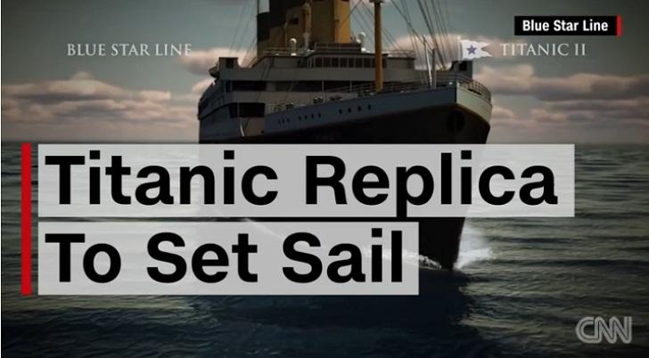 Foto Video: Replika Kapal Titanic II Akan Berlayar Pada 2018