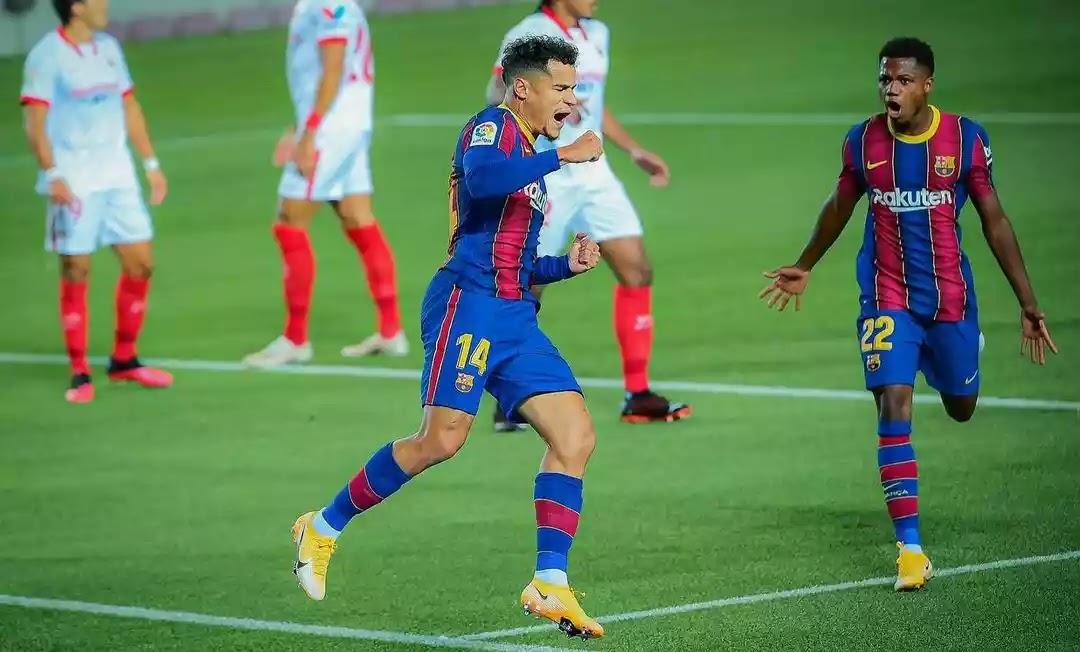 philippe Coutinho injury news Barcelona 2020
