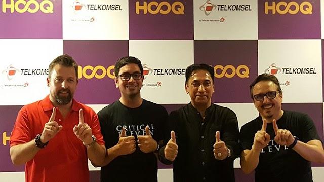 HOOQ & Telkomsel Kerjasama Produksi Film Critical Eleven.