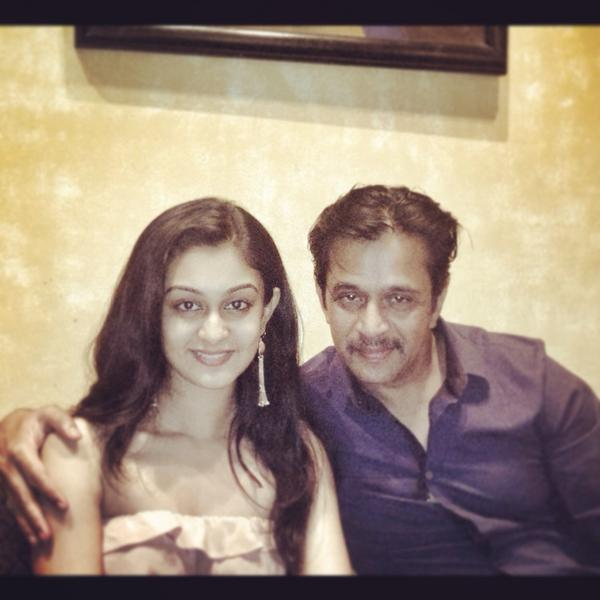 Actor Arjun Sarja Daughter Actress Aishwarya Arjun