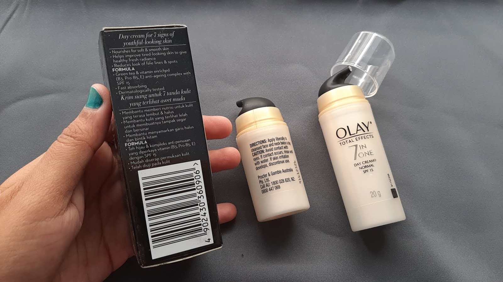 klaim Olay total effect