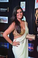 Varalakshmi in Cream Saree Sleeveless Backless Deep Neck Choli at IIFA Utsavam Awards March 2017 003.JPG