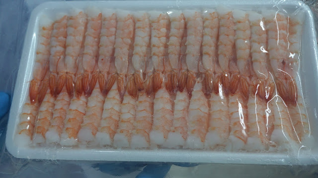 Sushi Ebi Vannamei Shrimp. Credit: Silvera Food