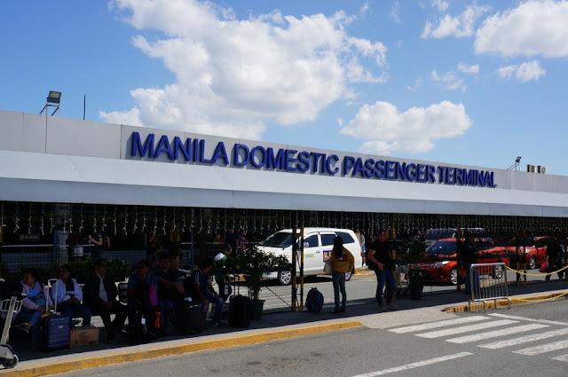 Terminal doméstico do Aeroporto de Manila