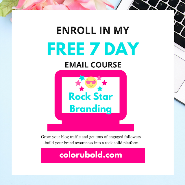 How to create a awesome brand! A totally FREE online mini course for bloggers, entrepreneurs and creatives who want a brand that's strong, consistent and totally awesome!