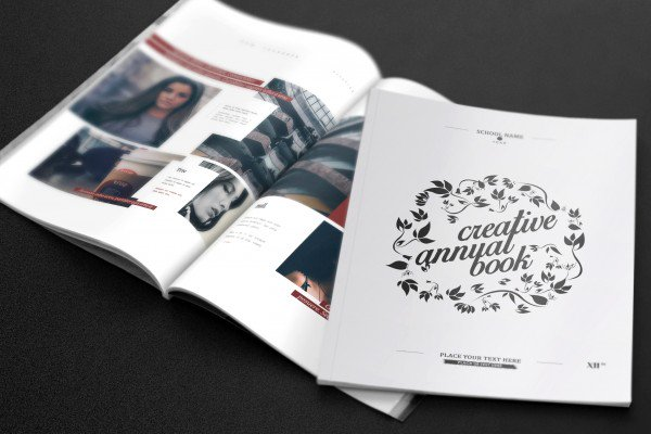 Many types of graphic design books available