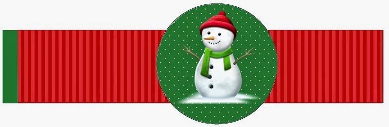 Kit de Navidad para Imprimir Gratis. Santa y Muñeco de Nieve ...