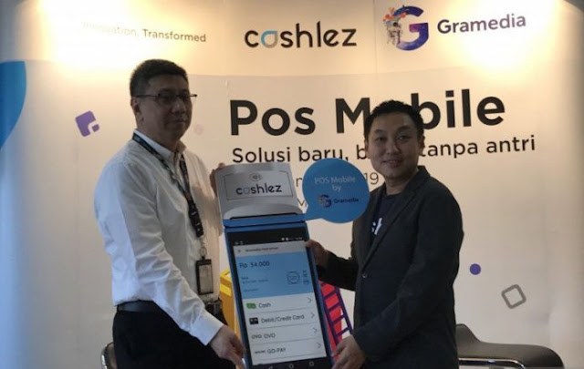 Gramedia berkolaborasi Cashlez hadirkan layanan bayar tanpa antre
