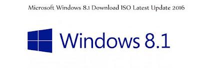 Microsoft Windows 8.1 Download ISO Latest Update 2016
