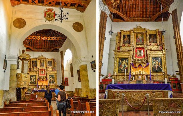 Mosteiro colonial de Ecce Homo, Colômbia