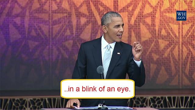 Arti In a Blink of an Eye