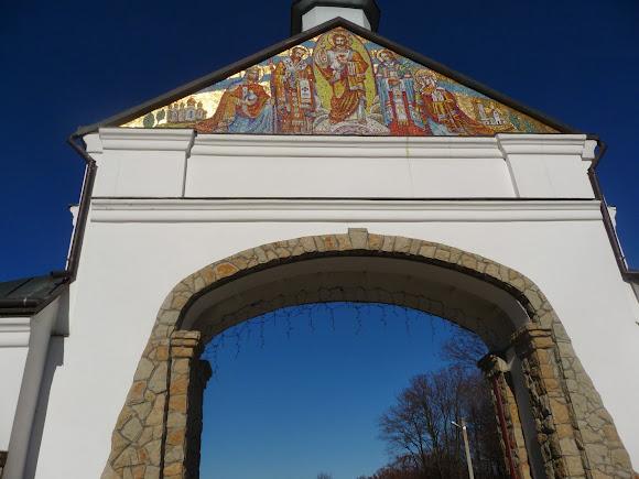Гошевский монастырь. Входные ворота