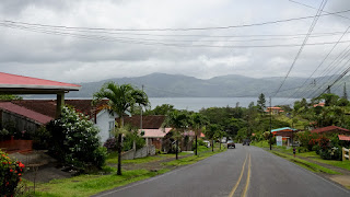 Small town around the Lake Arenal