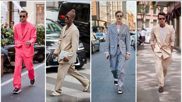 TOP 10 NEN'S STREET STYLE FROM MEN'S FASHION WEEK