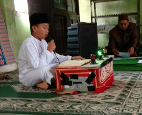 Muhammad Dafi Nuril Husna Peserta Tartil Putra Pada Gelaran FASI XI Tingkat Kota Tasikmalaya